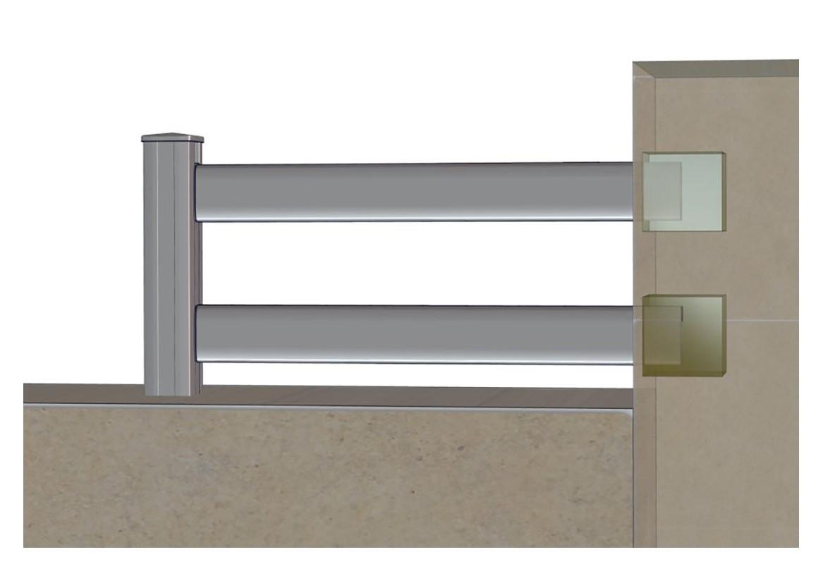 Lisses aluminium viss roy for Cloture acier ou aluminium