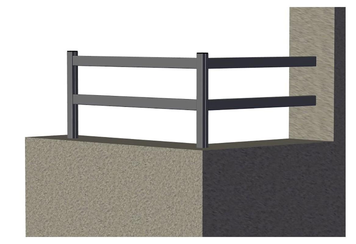 Lisses aluminium soud roy for Cloture acier ou aluminium