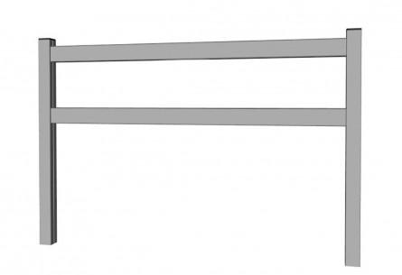 Lisses aluminium soudé