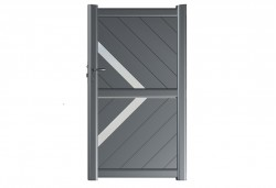 Portillon aluminium Diamantina