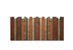 Filling, ex de remplissage vertical lames bois, 3 essences différentes,