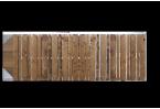 Filling, ex. de remplissage ajouré avec lames verticales en bois