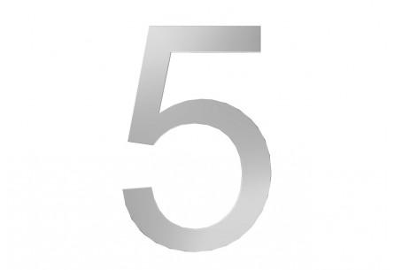 Décor Chiffre 5
