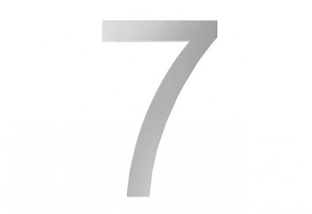 Décor Chiffre 7