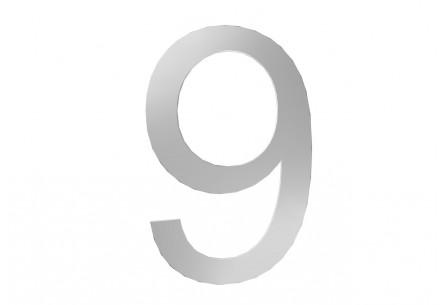 Décor Chiffre 9