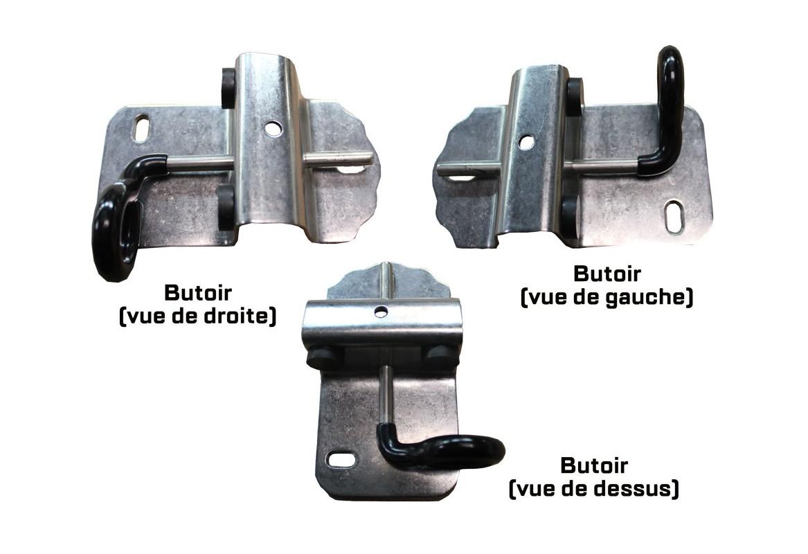 wholesale free shipping ever popular Kit de pose portail : kit alu à visser