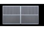Sherwood version cadre seul + exemple de remplissage lames composite grises