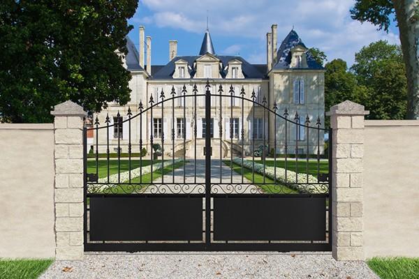 Roy fabricant fran ais de portail aluminium portail acier cl ture garde - Portail de cloture pas cher ...