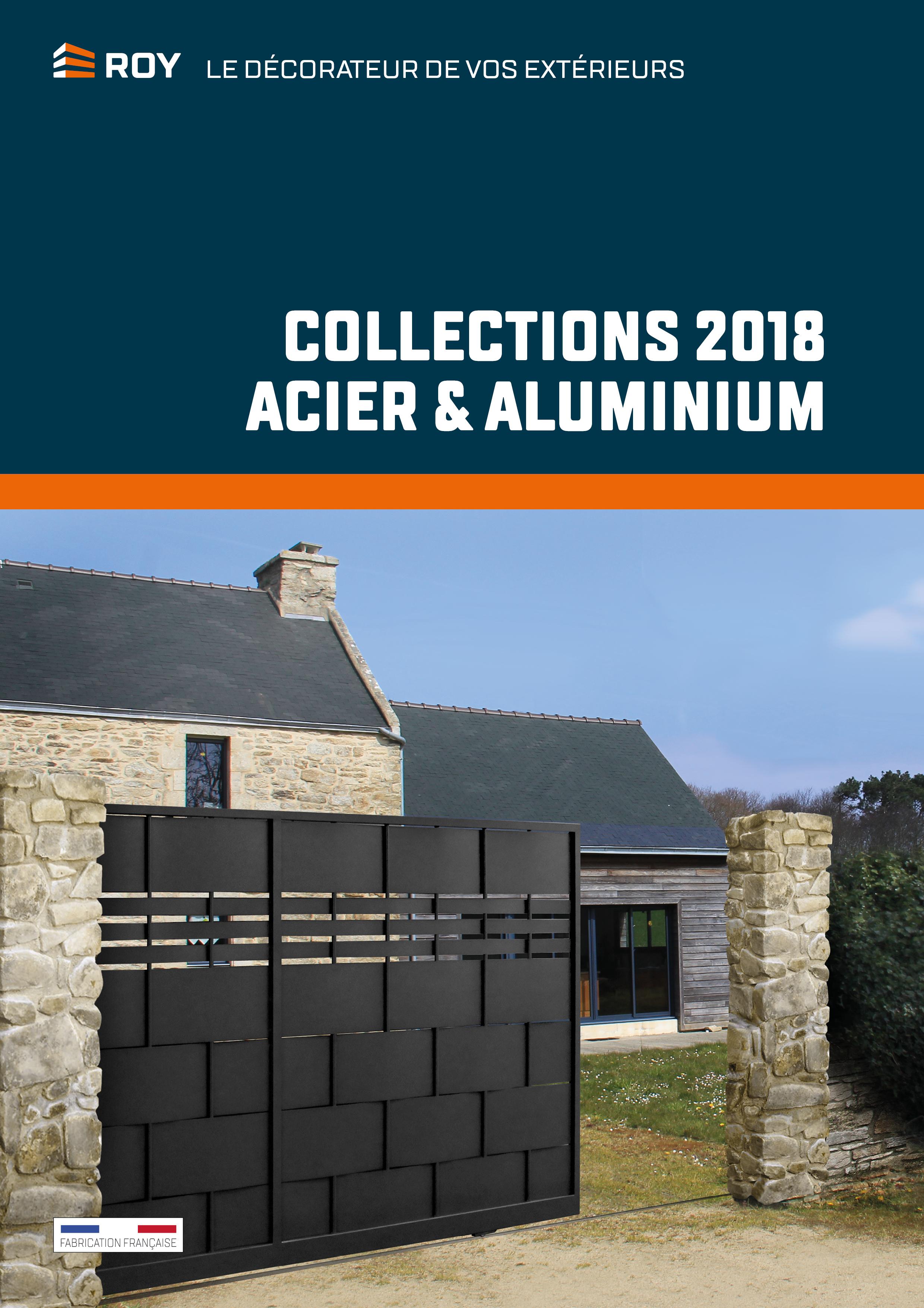 Couverture catalogue produit ROY 2018