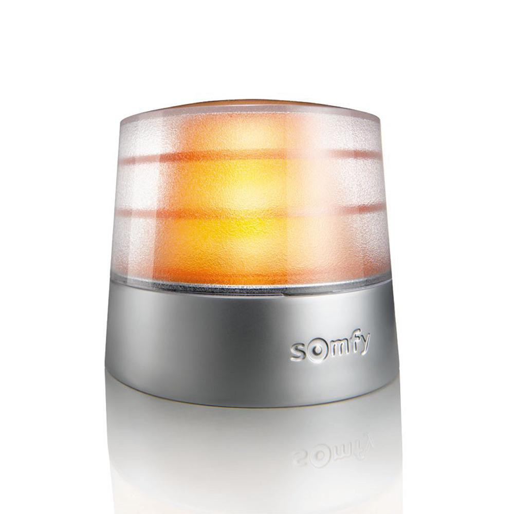 feu orange 24V pro avec antenne IO