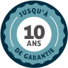 10 ans de garantie