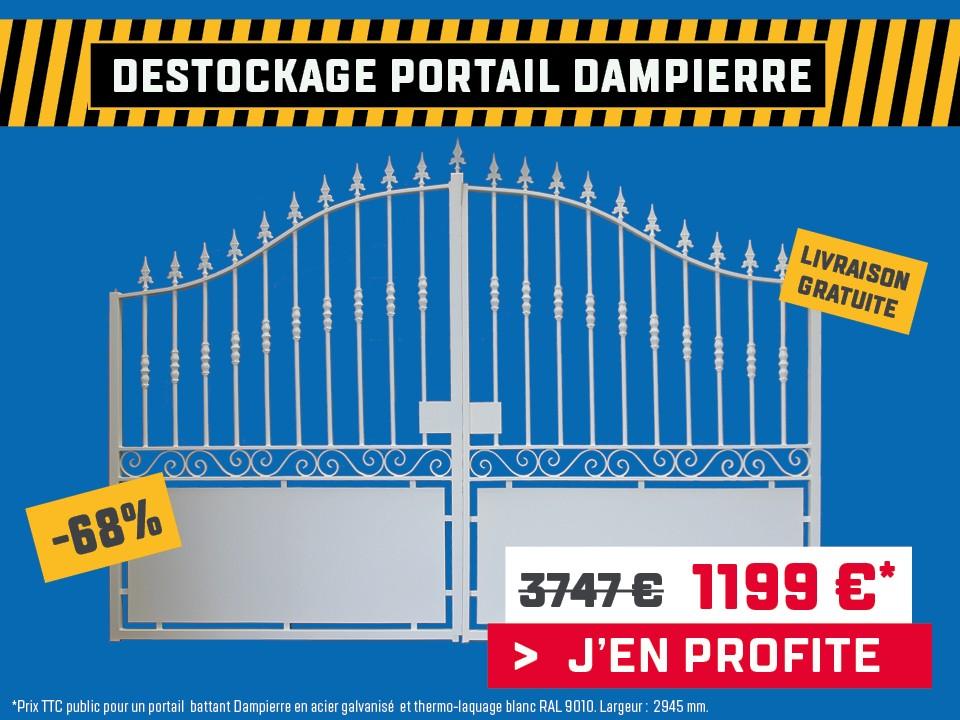 - 68% sur le portail acier Dampierre